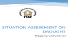 Drought Assesement